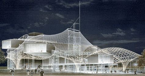 The Metz Centre Pompidou Roof Structure Construction Complete