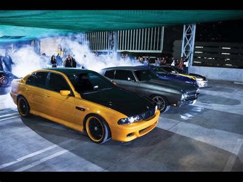 Fast And Furious Bmw by Fast Furious Cars Bmw Chevelle Nissan 1024x768