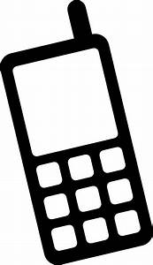 Icon Mobile Phone Clip Art at Clker.com - vector clip art ...