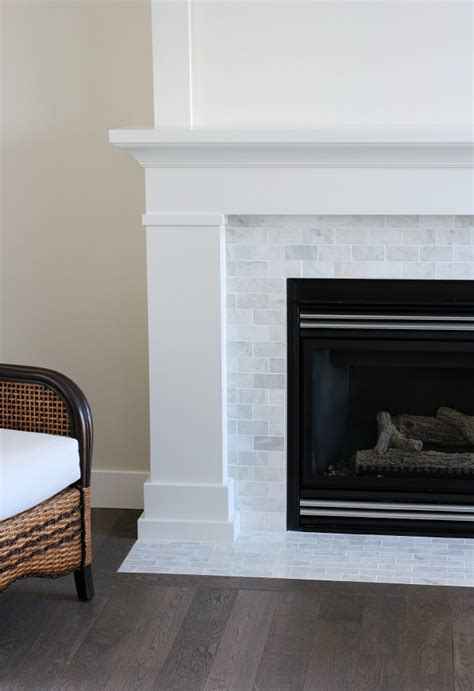 white marble fireplace the makeover details satori