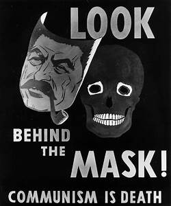 Truman Library Photograph: Anti-Communist Poster Depicting ...