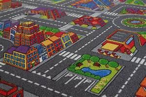 Tapis Enfant Route : tapis routier enfants tapis de jeu citylight 287x325 cm ebay ~ Teatrodelosmanantiales.com Idées de Décoration
