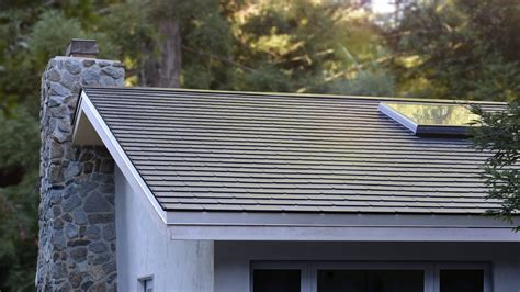 tesla solar roof here s what the tesla solar roofs look like in the curbed