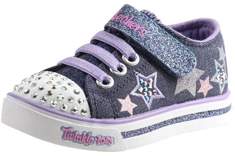 skechers light up shoes toddler skechers toddler s twinkle toes twinklerella light up