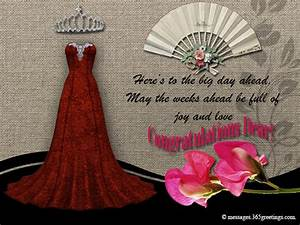 bridal shower greetings 365greetingscom With wedding shower greetings