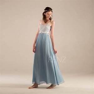2016 Steel Blue Bridesmaid Dress, Blue Wedding Dress ...