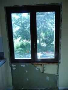Remplacement d39une fenetre par une porte fenetre dans une for Remplacement vitre porte fenetre