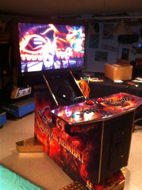mortal kombat arcade cabinet plans 27 best images about stuff i want on pool