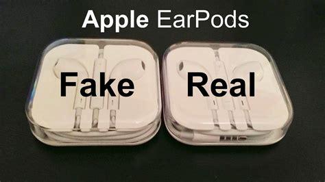 real iphone headphones vs real apple earpods