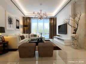 in the livingroom gypsum board in the living room tv wall design effect drawing living room