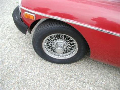 Sell Used 1976 Mgb Red Great Driver Wire Wheels With Many