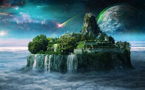 Magical Island Waterfalls