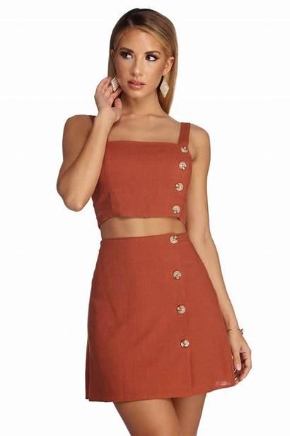 Outfits Dresses Skirt Windsorstore Guardado Desde Casual