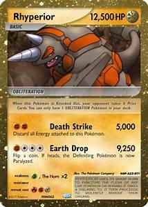 Rhyperior Pokemon Card | www.imgkid.com - The Image Kid ...
