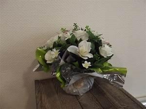 articles funeraires pompes funebres marbrerie authier With affiche chambre bébé avec bouquet de fleurs obsèques