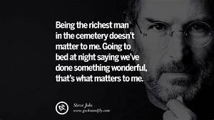 28 Memorable Quotes by Steven Paul 'Steve' Jobs for ...  Being