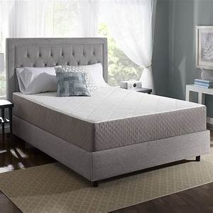 Deluxe comfort novaform for Are memory foam mattresses comfortable