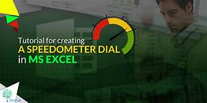 Pie Chart Python Tutorial For Creating A Speedometer Dial In Ms Excel