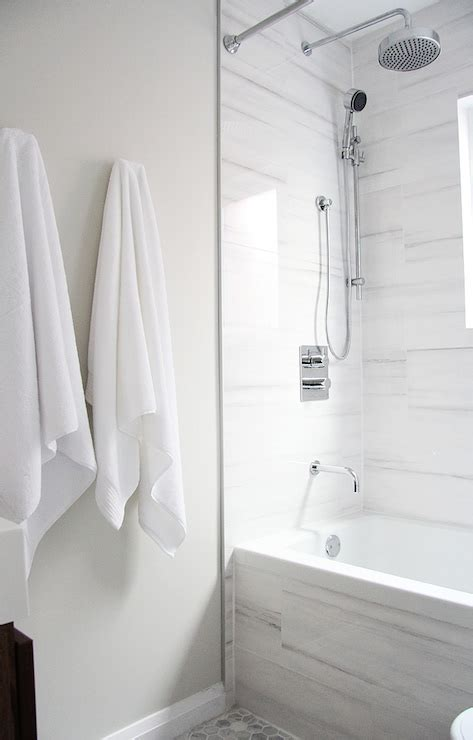 white marble alternatives modern bathroom benjamin