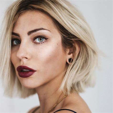 frisuren für halblange haare bob frisuren 2018 das sind die neuen schnitte und farben fotoalbum gofeminin