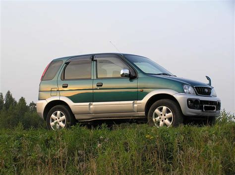 Daihatsu Terios Photo by 2001 Daihatsu Terios Photos 1 3 Gasoline Manual For Sale