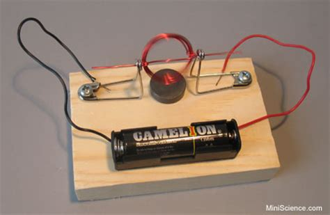 Simple Motor by Science Fair Project Ideas For High School Students