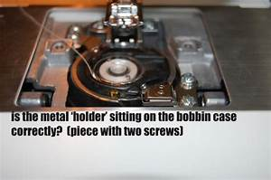 Bobbin Hook Not Picking Up Thread