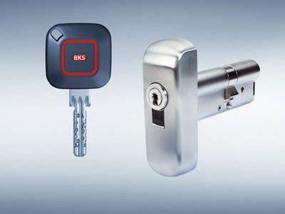 elektronischer schließzylinder mit transponder bks janus wendeschl 252 sselsystem auch mechatronisch