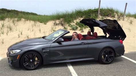 bmw  convertible hard top nydn autos youtube