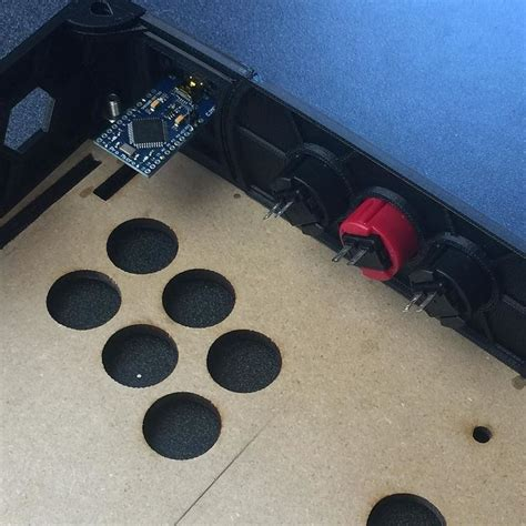 why not the button encoder e g arduino to the usb port the joystick at least it