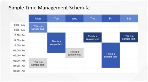 time schedule template powerpoint timetable powerpoint templates