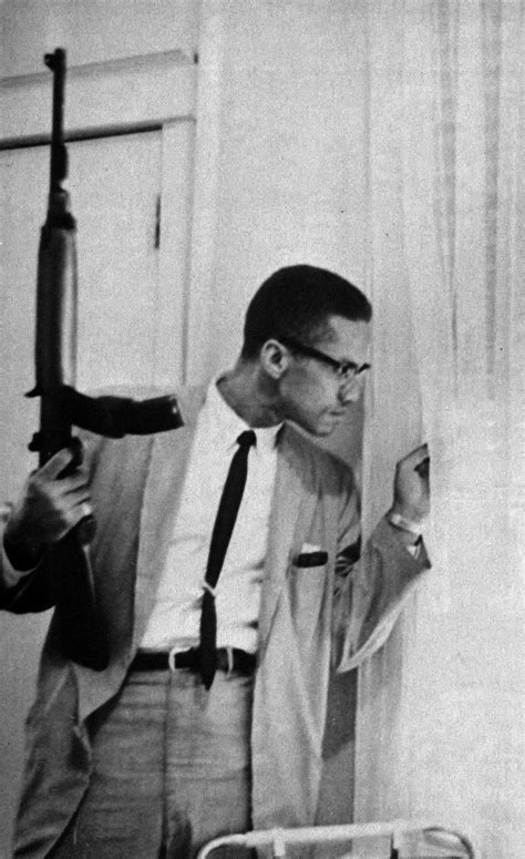 "Malcolm X had a gun…..he had an ""ASSAULT RIFLE"""