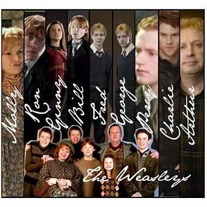 The Weasley Family | Harry Potter | Pinterest
