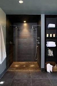 Maisonette Wohnung Nachteile : moderne badgestaltung mit einer badewanne dusche wand aus glas und zwei blumen 77 badezimmer ~ Indierocktalk.com Haus und Dekorationen