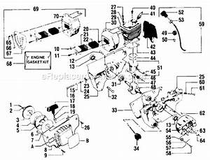 Poulan 4900 Parts List And Diagram   Ereplacementparts Com