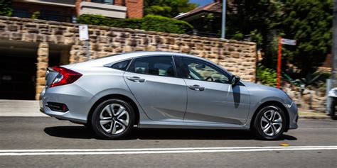 Honda Civic by 2017 Honda Civic Vti Sedan Review Photos Caradvice