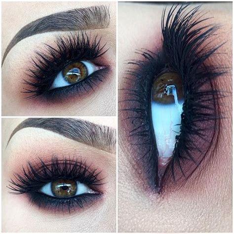 tips  fake long thick eyelashes  falsies pretty designs