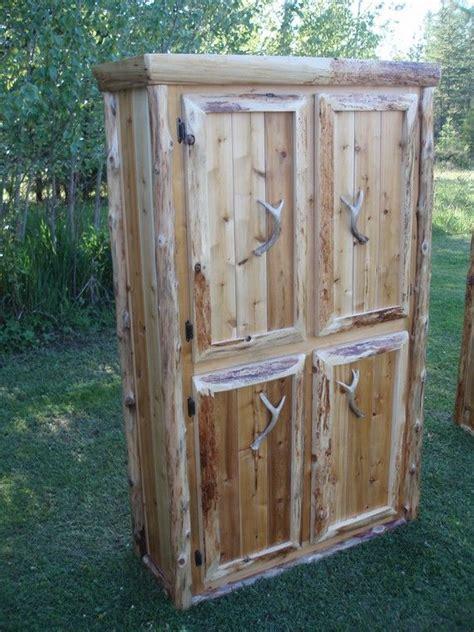 kitchen cabinets for storage custom rustic northern white cedar storage cabinet white 6062