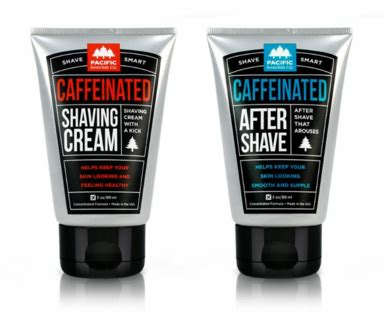First Ever Caffeinated Shaving Line Hits Store Shelves