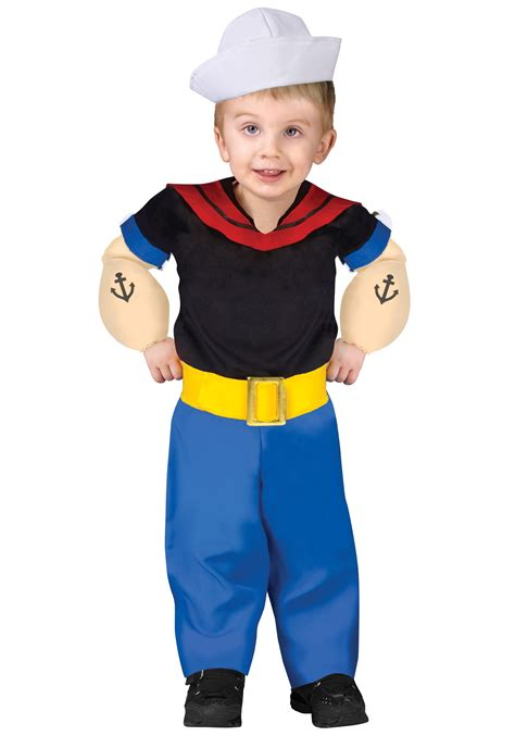 halloween costumes for preschoolers toddler popeye costume 696