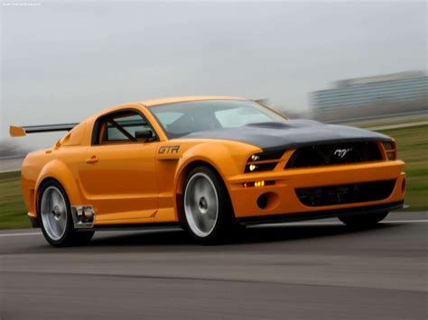 ford mustang gtr for ford mustang gtr 40th anniversary concept 2004 ford
