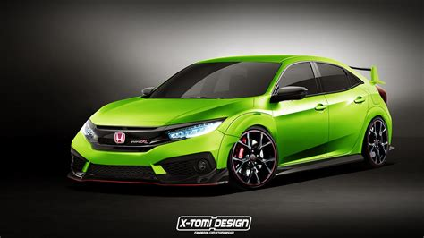 The Next Honda Civic Type R Gets Rendered Based On Geneva