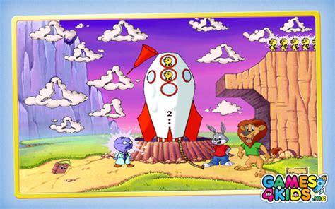reader rabbit preschool sparkle rescue 2001 360 | 195197 reader rabbit preschool sparkle star rescue screenshot
