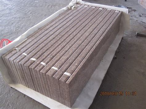 outdoor stairs treads and granite risers view