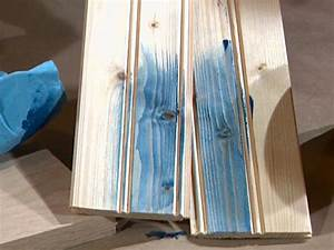 Water based and oil based color stains diy for How to paint wood floors diy network