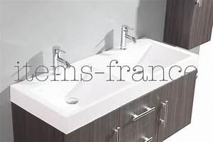 Grand Meuble Salle De Bain : salle de bain meuble jina perso grand meuble salle de bain double vasque suspendu sans ~ Teatrodelosmanantiales.com Idées de Décoration
