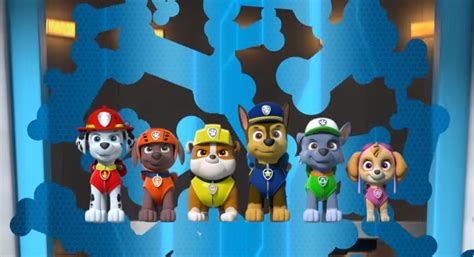 sigla testo sigla paw patrol con testo cartoni animati