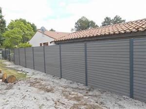 Panneau De Cloture En Bois : panneau bois composite ~ Premium-room.com Idées de Décoration