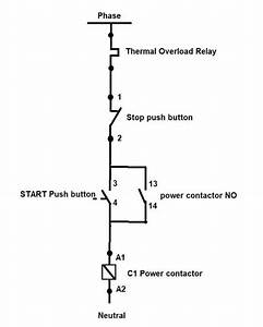Direct Motor Starter Diagram