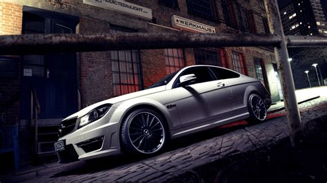 Mercedes Backgrounds by Mercedes C63 Hd Wallpaper Background Image
